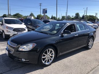 2009 Imperial Blue Metallic Chevrolet Malibu LTZ FWD Automatic Car 4 Door