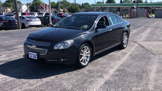 2009 Chevrolet Malibu LTZ Sedan 3.6L DOHC V6 VVT SFI Engine 4 Door FWD