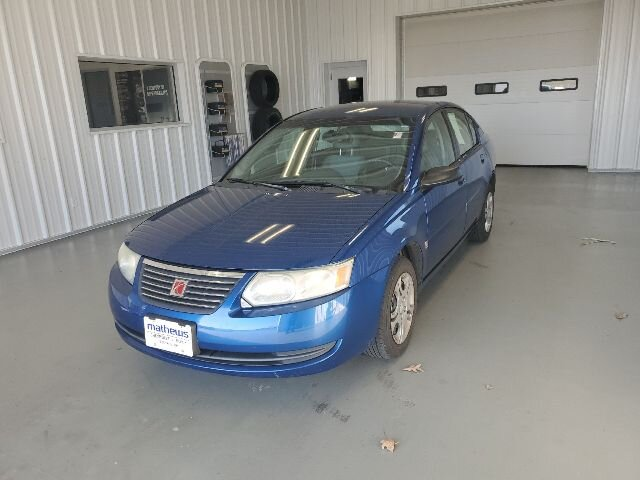 2005 Pacific Blue Saturn Ion ION 2 4 Door Sedan FWD
