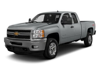 2013 Silver Ice Metallic Chevrolet Silverado 2500HD LT 2 Door Truck 6.6L 8-Cylinder Engine