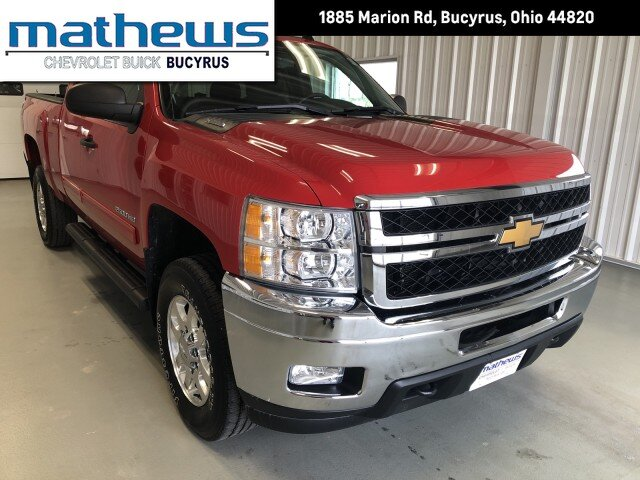 2013 Victory Red Chevrolet Silverado 2500HD LT 2 Door 6.0L Vortec 1000 VVT V8 SFI E85-Compatible Flex-Fuel Engine Truck