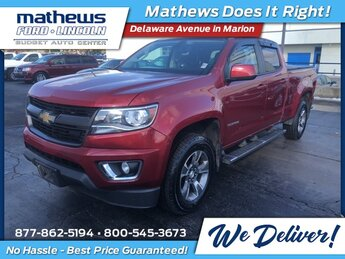 2015 Red Rock Metallic Chevrolet Colorado 4WD Z71 Truck 4 Door Automatic 4X4 3.6L V6 DGI DOHC VVT Engine