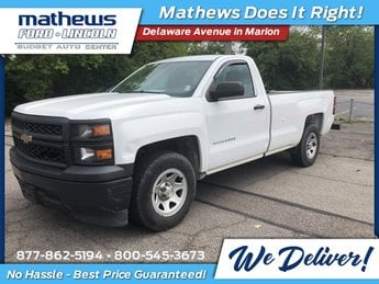 2014 Summit White Chevrolet Silverado 1500 Work Truck Automatic RWD Truck