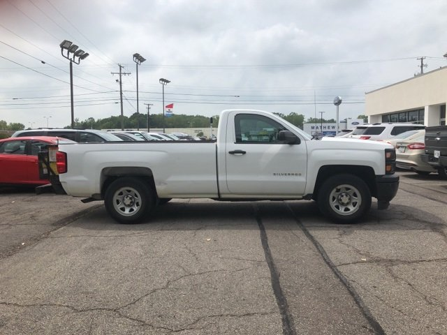2014 Chevrolet Silverado 1500 Work Truck RWD Automatic 2 Door EcoTec3 5.3L V8 Flex Fuel Engine
