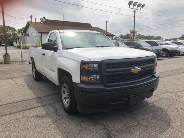 2014 Chevrolet Silverado 1500 Work Truck 2 Door EcoTec3 5.3L V8 Flex Fuel Engine Truck RWD