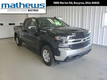 2020 Black Chevrolet Silverado 1500 LT 4X4 Truck 4 Door 5.3L Ecotec3 V8 Engine Automatic