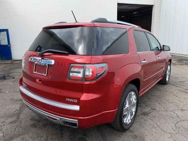 2014 GMC Acadia Denali AWD Automatic 4 Door 3.6L 6-Cylinder Engine