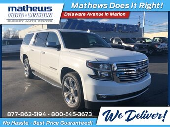2016 Summit White Chevrolet Suburban 1500 LTZ SUV 4 Door Automatic