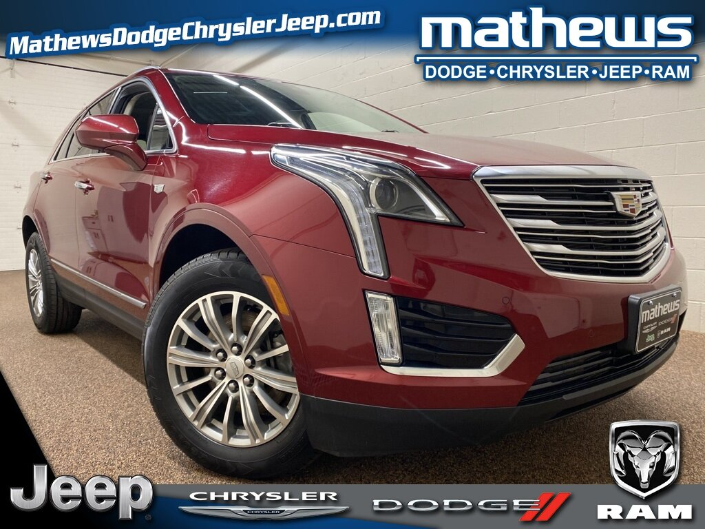2017 Red Passion Tintcoat Cadillac XT5 Luxury FWD 3.6L V6 DI VVT Engine Automatic 4 Door FWD SUV