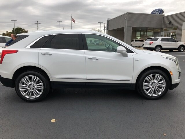 2017 Crystal White Tricoat Cadillac XT5 Premium Luxury AWD 3.6L V6 DI VVT Engine SUV Automatic 4 Door