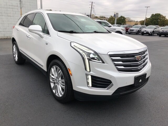 2017 Crystal White Tricoat Cadillac XT5 Premium Luxury AWD Automatic 4 Door 3.6L V6 DI VVT Engine
