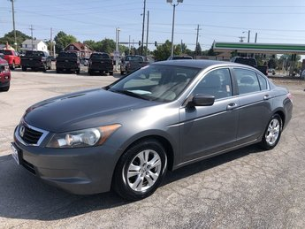2010 Polished Metal Metallic Honda Accord Sdn LX-P FWD 4 Door 2.4L DOHC MPFI 16-Valve i-VTEC I4 Engine Automatic Sedan