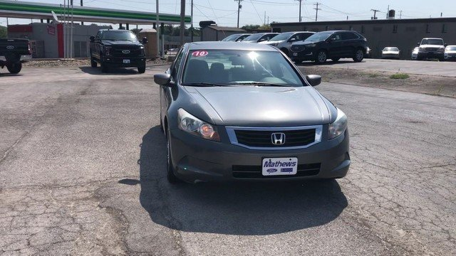 2010 Honda Accord Sdn LX-P FWD Automatic 2.4L DOHC MPFI 16-Valve i-VTEC I4 Engine Sedan 4 Door