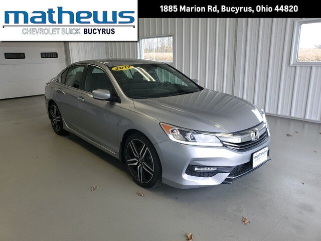 2017 Honda Accord Sedan Sport Sedan 2.4L 16-Valve DOHC i-VTEC I4 Engine Automatic FWD 4 Door