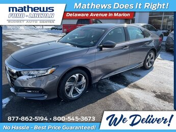 2020 Modern Steel Honda Accord EX-L I4 DOHC 16V Turbocharged Engine 4 Door Car Automatic FWD