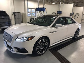 2019 White Platinum Metallic Tri-Coat Lincoln Continental Select AWD Sedan 3.7L V6 Cylinder Engine 4 Door