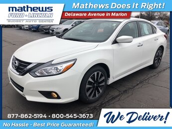 2018 Nissan Altima 2.5 SV 4 Door 2.5L 4-Cylinder DOHC 16V Engine Car