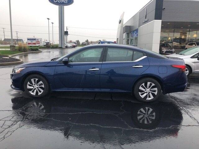2019 Nissan Altima 2.5 S Automatic (CVT) 2.5L 4-Cylinder DOHC 16V Engine Sedan FWD 4 Door