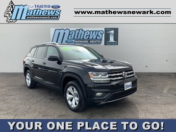 2019 Reflex Silver Metallic Volkswagen Atlas 3.6L V6 SE w/Technology Automatic AWD 4 Door 3.6L 6-Cylinder Engine