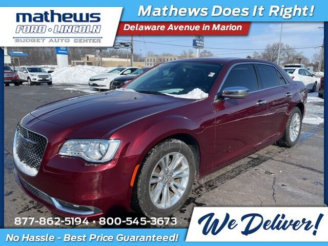 2016 Chrysler 300C 300C 3.6L V6 24V VVT Engine Car 4 Door