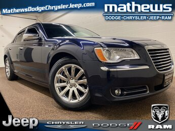 2012 Blackberry Pearlcoat Chrysler 300C 300C Car Automatic 4 Door RWD HEMI 5.7L V8 Multi Displacement VVT Engine