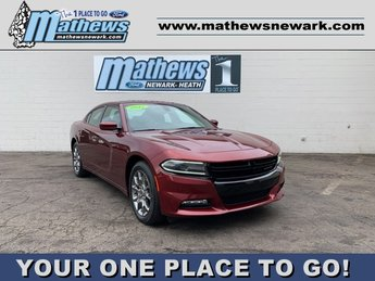 2017 Octane Red Pearlcoat Dodge Charger SXT 3.6 L 6-Cylinder Engine Automatic AWD Sedan 4 Door