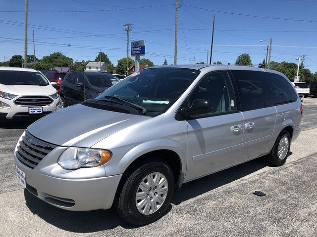 2005 Bright Silver Metallic Chrysler Town & Country LX Van 4 Door 3.3L OHV SMPI V6 Engine FWD