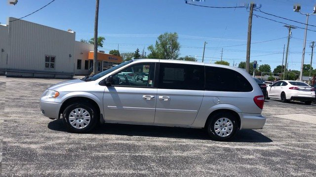 2005 Bright Silver Metallic Chrysler Town & Country LX Van Automatic FWD 3.3L OHV SMPI V6 Engine