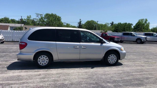 2005 Bright Silver Metallic Chrysler Town & Country LX 4 Door Van 3.3L OHV SMPI V6 Engine FWD Automatic