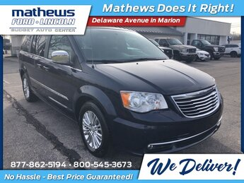 2015 Chrysler Town & Country Touring-L 3.6L V6 Flex Fuel 24V VVT Engine FWD Van Automatic