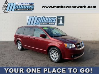 2019 Octane Red Pearlcoat Dodge Grand Caravan SXT 4 Door Automatic 3.6 L 6-Cylinder Engine Van