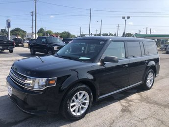 2016 Shadow Black Ford Flex SE 3.5L V6 Cylinder Engine Automatic FWD SUV