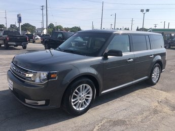 2016 Magnetic Metallic Ford Flex SEL FWD 3.5L V6 Cylinder Engine 4 Door Automatic