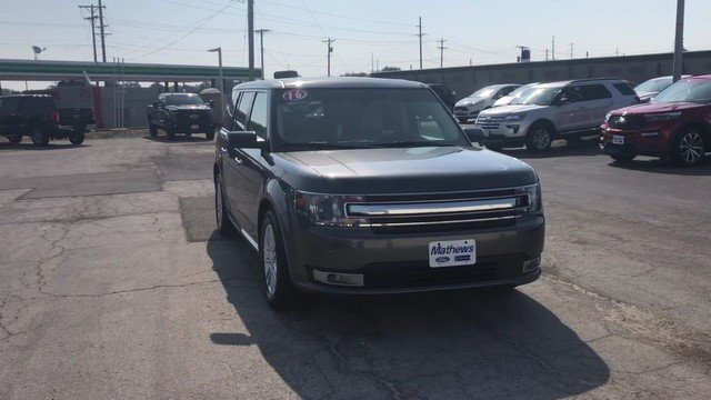 2016 Magnetic Metallic Ford Flex SEL 3.5L V6 Cylinder Engine Automatic SUV FWD