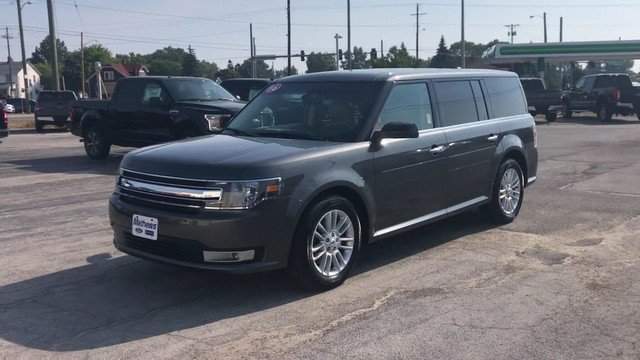 2016 Magnetic Metallic Ford Flex SEL FWD 3.5L V6 Cylinder Engine Automatic SUV 4 Door