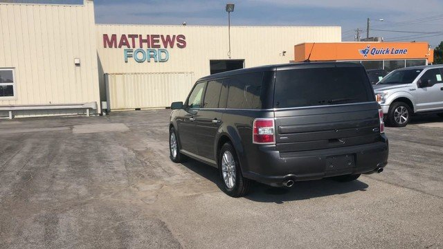 2016 Magnetic Metallic Ford Flex SEL 3.5L V6 Cylinder Engine 4 Door Automatic SUV