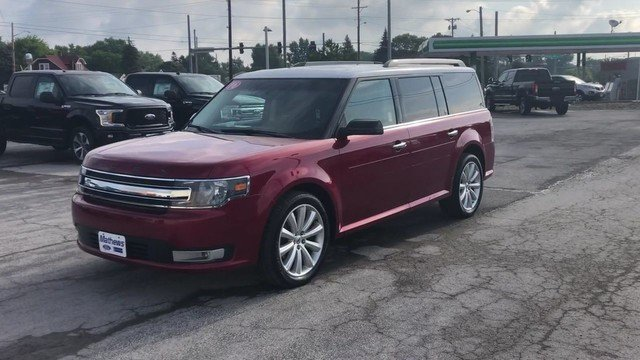 2016 Ford Flex SEL SUV 3.5L V6 Cylinder Engine 4 Door Automatic FWD