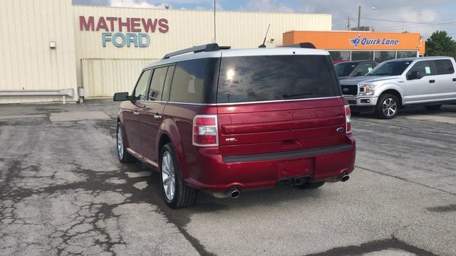 2016 Ruby Red Metallic Tinted Clearcoat Ford Flex SEL Automatic FWD SUV