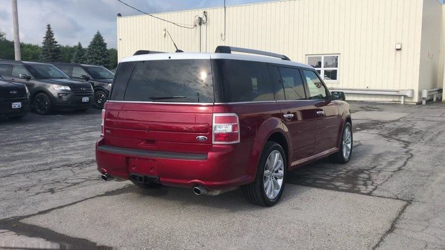 2016 Ford Flex SEL Automatic SUV 3.5L V6 Cylinder Engine