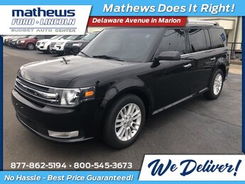 2019 Agate Black Ford Flex SEL 3.5L V6 Ti-VCT Engine SUV AWD Automatic 4 Door