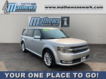 2019 Ingot Silver Metallic Ford Flex Limited SUV 3.5 L 6-Cylinder Engine Automatic AWD
