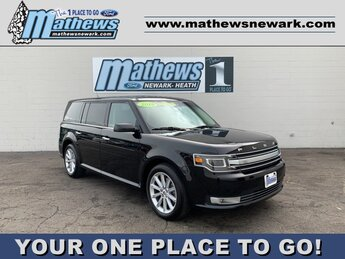 2019 Agate Black Ford Flex Limited Automatic AWD 3.5 L 6-Cylinder Engine