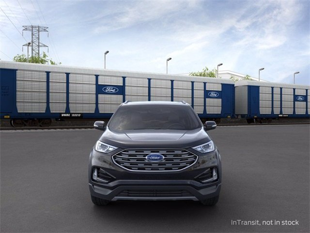 2020 Agate Black Ford Edge FWD 2.0 L 4-Cylinder Engine 4 Door FWD SUV