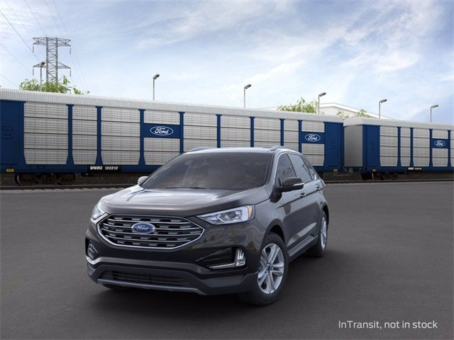 2020 Agate Black Ford Edge FWD 2.0 L 4-Cylinder Engine Automatic SUV 4 Door