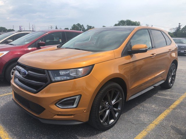 2015 Ford Edge Sport 4 Door 2.7L V6 Ecoboost Engine SUV AWD Automatic