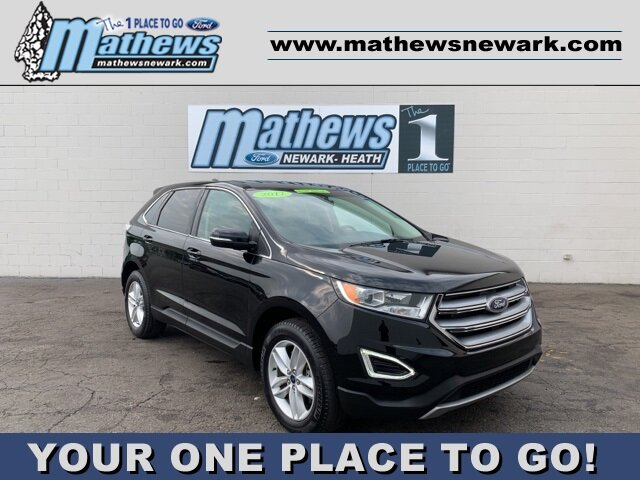 2017 Ford Edge SEL 3.5 L 6-Cylinder Engine Automatic AWD