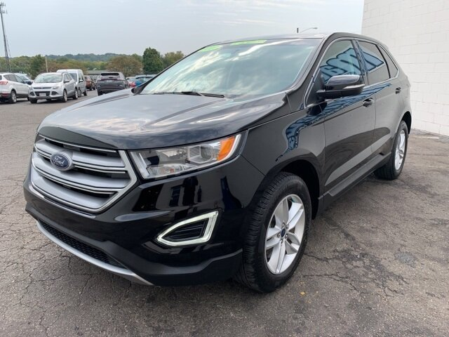 2017 SHADOW_BLACK Ford Edge SEL SUV 4 Door 3.5 L 6-Cylinder Engine Automatic