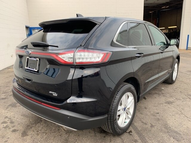 2017 SHADOW_BLACK Ford Edge SEL 4 Door Automatic 3.5 L 6-Cylinder Engine SUV
