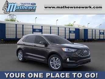 2020 Agate Black Ford Edge AWD 2.0 L 4-Cylinder Engine Automatic SUV