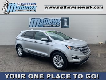 2017 Ingot Silver Metallic Ford Edge SEL AWD 2.0 L 4-Cylinder Engine SUV 4 Door